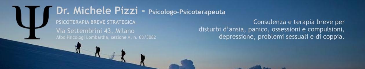 Michele Pizzi – Psicologo Psicoterapeuta a Milano